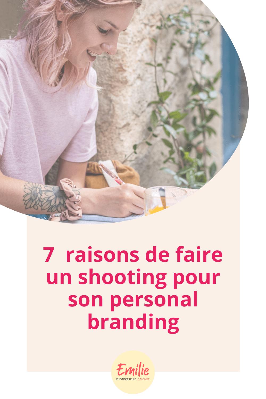7 raisons de faire un shooting personal branding